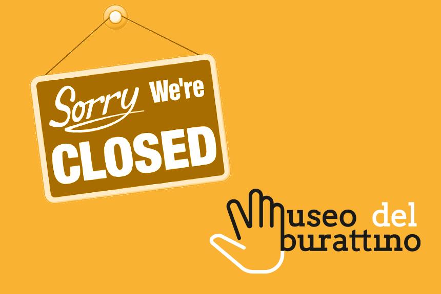 Il museo è chiuso fino al 3 dicembre