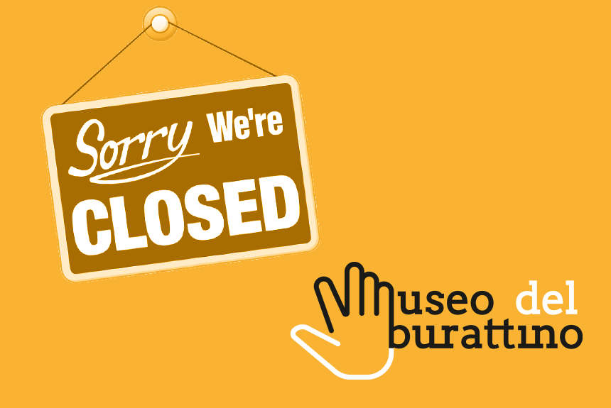 Il museo è chiuso fino al 3 aprile