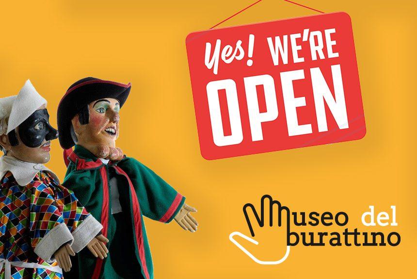 Dal 18 giugno riapre il Museo del Burattino